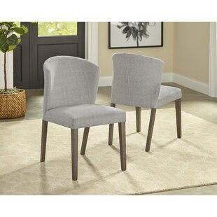 Macclesfield Upholstered Dining Chair (Set of 2) Gracie Oaks