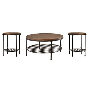Bonifacio 2 Piece Coffee Table Set Trent Austin Design