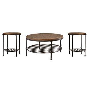 Bonifacio 2 Piece Coffee Table Set Trent Austin Design