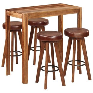 Fullwood Dining Set With 4 Chairs By Union Rustic