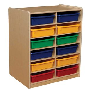 Buying Letter Storage Unit 12 Compartment Cubby with Trays By Wood Designs
