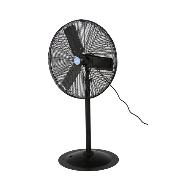 Iliving Commercial 30 Pedestal Standing Fan Reviews Wayfair