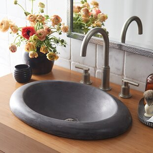 Cuyama Stone Oval Drop-In Bathroom Sink By Native Trails, Inc.