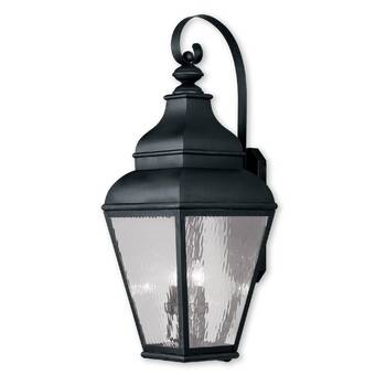 Darby Home Co Aaryahi 4 Light Outdoor Wall Lantern Wayfair