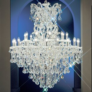 Classic Lighting Maria Thersea 31-Light Candle Style Chandelier