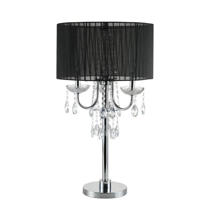Euston crystal 29 5 table lamp