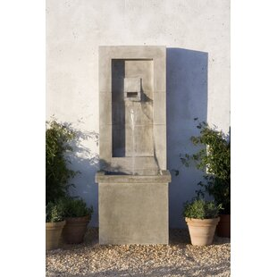 Campania International Concrete Modern Fountain