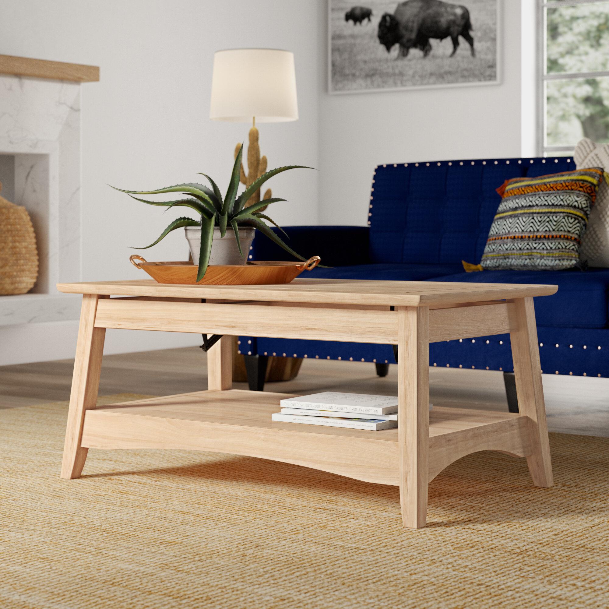 Mistana Lynn Bombay Coffee Table With Lift Top Reviews Wayfair Ca