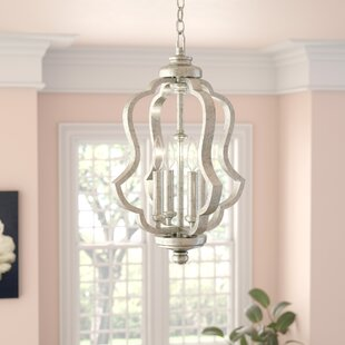 Great Price Erroll 4-Light Pendant By Willa Arlo Interiors