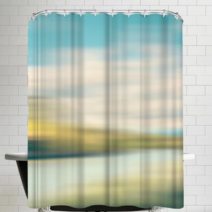 Annie Bailey Landscape No IIII Single Shower Curtain