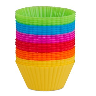 Non-Stick Muffin Cup (Set of 24) by Symple Stuff