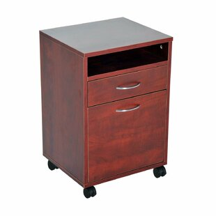 Serenity 24 Rolling End Table with Storage