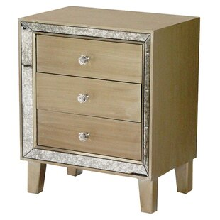 Lera 3 Drawer Accent Chest by House of Hampton