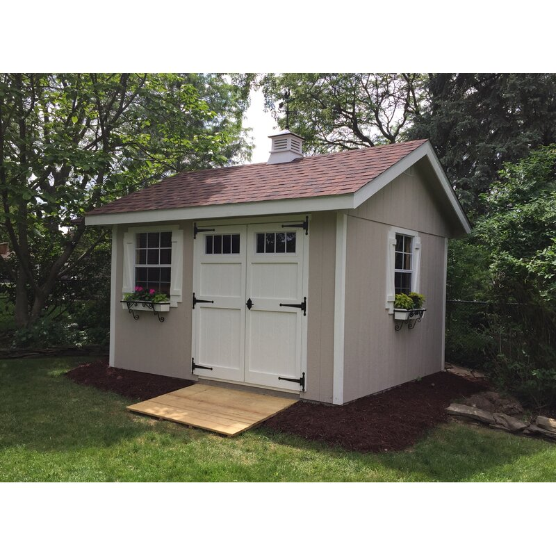 X 12 Ft D Wooden Storage Shed