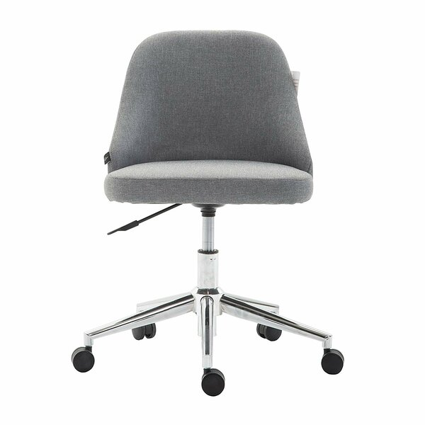 Peachy Grey Fabric Office Chair Wayfair Co Uk Gmtry Best Dining Table And Chair Ideas Images Gmtryco