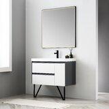 Courtnie 36 Single Bathroom Vanity Set with Mirror by Brayden Studio®