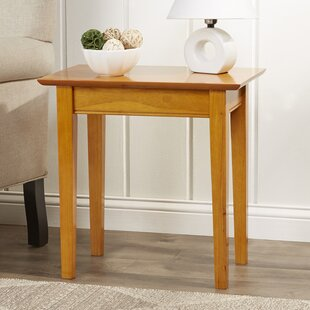 Ithaca End Table by Charlton Home
