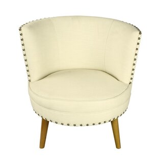 Round Barrel Chair by Adeco Trading