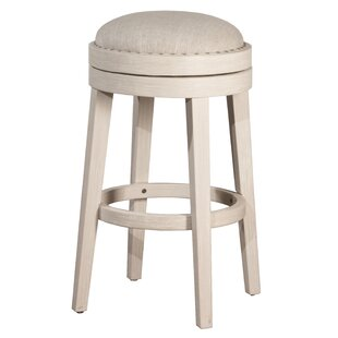 Montpelier 26 Swivel Bar Stool by Rosecliff Heights