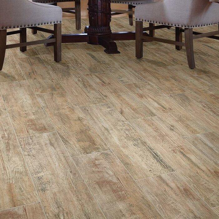 Ceramic Wood Look Wall Floor Tile
