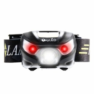 OxyLED USB Rechargeable LED Headlamp