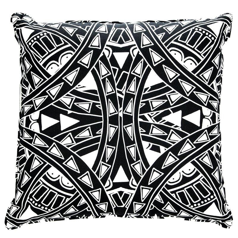 Lorena Gaxiola El Apache Tattoo Cotton Throw Pillow | Wayfair