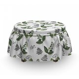 Fresh Blooming Plants Ottoman Slipcover (Set of 2) by East Urban Home