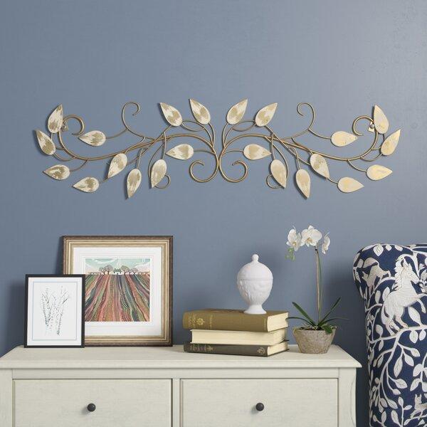 Fleur De Lis Living Over The Door Scroll Wall Decor Reviews Wayfair
