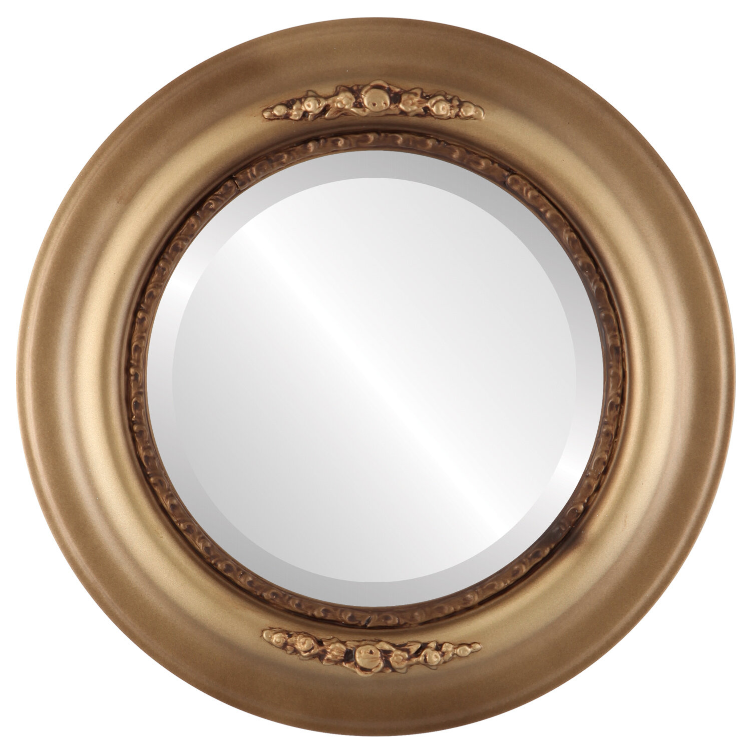 Charlton Home Wisbech Traditional Beveled Accent Mirror Wayfair