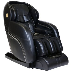 Latitude Run Presidential Reclining Full Body Massage Heated Zero Gravity Massage Chair
