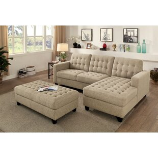 Lindaro Sleeper Sectional with Ottoman