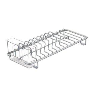 InterDesign Metro Aluminum Compact Dish Rack