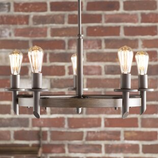 Trent Austin Design Redvale 5-Light Shaded Chandelier