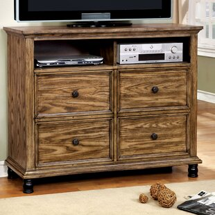 Gracie Oaks Zebadiah 4 Drawer Media Chest