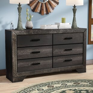 Katarina 6 Drawer Double Dresser by Mistana Find