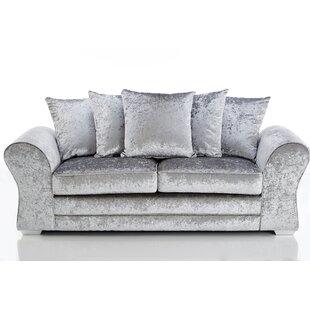Kilpatrick 3 Seater Sofa By Rosdorf Park