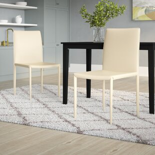 Nimet Upholstered Dining Chair (Set Of 2) By Ebern Designs