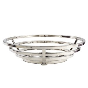 Stainless Steel Beam Round Fruit Basket