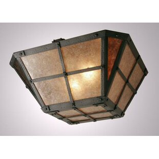 Behr Semi Flush Mount Ceiling Light by Loon Peak