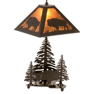 Wymore Buffalo 21 Table Lamp