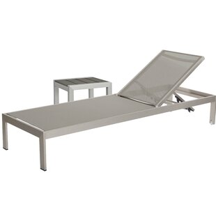 Belterra Chaise Lounge Set with Table
