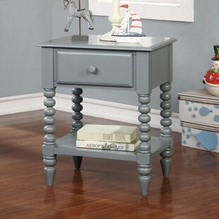West Wick Modish Shrewd 1 Drawer Nightstand