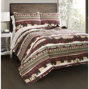 Maja Cotton 3 Piece Reversible Quilt Set