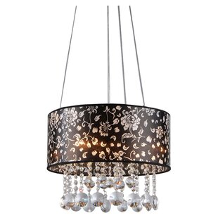 Warehouse of Tiffany Claire 4-Light Drum Chandelier