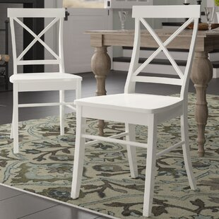 Beachcrest Home Melbourne Shores Solid Wood Dining Chair