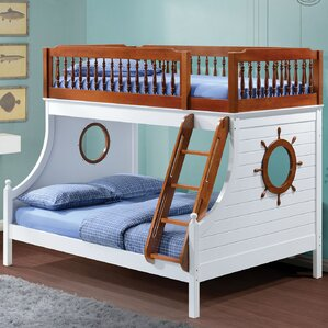 Greggory Twin Slat Bunk Bed by Harriet Bee