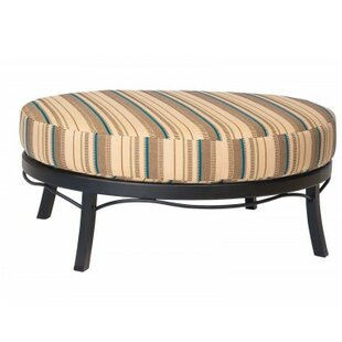 Woodard Cortland Ottoman with Cushion
