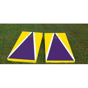 Custom Cornhole Boards Louisiana State University Cornhole Game (Set of 2)