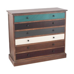 Mcguigan 6 Drawers Chest By Bloomsbury Market