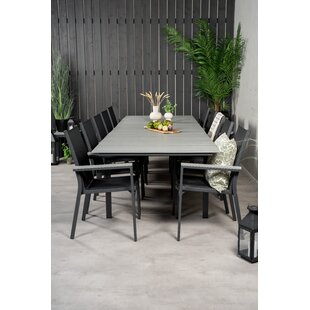 Akia 10 Seater Dining Set By Sol 72 Outdoor